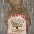 CHERISH HEARTLEE BOYDS BEAR LOVE JOY FAMILY HEART IS CENTER OF ALL GREAT THINGS
