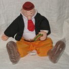 WIMPY PLUSH STUFFED 1985 BURGER KING PRESENTS HAMILTON GIFTS POPEYE SAILOR MAN