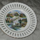 VINTAGE ARIZONA STATE SOUVENIR COLLECTOR PLATE SUPERSTITION MOUNTAIN 6 1/4""