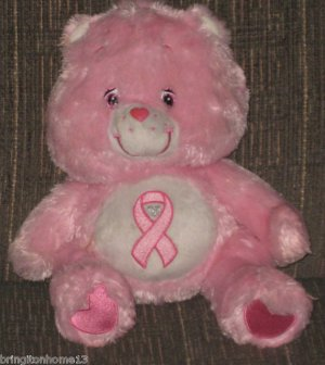 Care Bears Pink Power Bear Limited Edition Rare Breast Cancer Bear 13    Pink Power Care Bear