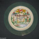 VINTAGE ALABAMA STATE SOUVENIR COLLECTOR PLATE HOMER LAUGHLIN J55N8 10""
