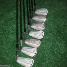1971 BEN HOGAN BOUNCE SOLE GOLF CLUBS 3-E 3,5,6,7,8,9, EQUALIZER WEDGE APEX