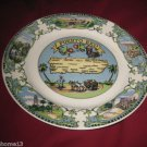 VINTAGE PUERTO RICO STATE SOUVENIR COLLECTOR PLATE 9 1/4""