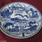 VINTAGE HAWAII STATE SOUVENIR COLLECTOR PLATE THE 50TH STATE  9 1/2""