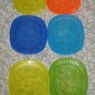 SET OF SIX IKEA LUNCH SNACK PLATES CHILDREN