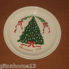 1978 Christmas Plate Lillian Vernon Carrigaline Pottery County Cork Ireland 7""