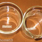 MELIOR COFFEE PRESS REPLACEMENT SPARE GLASS & CARAFE BEAKER ? SET