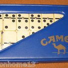 Joe Camel Set of Dominoes GAME IN CARRY CASE 1989 VINTAGE CIGARETTE COLLECTIBLE