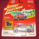 JOHNNY LIGHTNING 1975 DODGE D-100 DIE CAST BOOGIE VAN KEEP ON TRUCKIN&#39; 2002 NIP