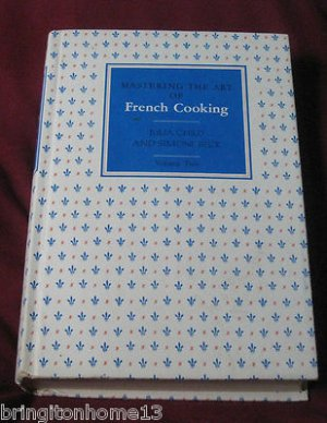 1970 MASTERING THE ART OF FRENCH COOKING VOLUME TWO 2 II JULIA CHILD KNOPF HC
