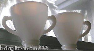 MacBeth-Evans Glass Company?  Creamer and Open Sugar