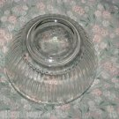 Pyrex 7401-S  Clear Ribbed Mixing / Nesting Bowl 3 Cups