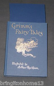 Sold GRIMM'S FAIRY TALES FOLIO SOCIETY EDITION 2003 ARTHUR RACKHAM BOOK HC SLIPCASE