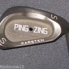 KARSTEN Ping Zing Wedge Golf Club SAND WEDGE SW BLACK DOT KT-M SHAFT SS RH