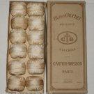 12 CARTIER-BRESSON PARIS FIL POUR CROCHET THREAD 1272 YDS COLOR 70 ORIGINAL BOX