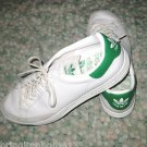 ADIDAS ROD LAVER 2005 MEN'S TENNIS SHOES WHITE & GREEN SIZE 13 VINTAGE SNEAKERS