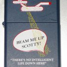 ZIPPO ZIPLIGHT STAR TREK FLASHLIGHT- BEAM ME UP SCOTTY L XI RARE