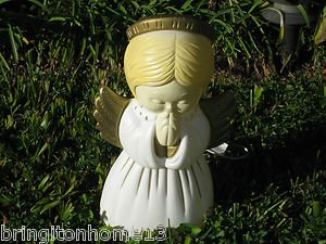 Sold 1999 GRAND VENTURE BLOW MOLD CHRISTMAS PRAYING CHILD ANGEL LIGHT DECORATION