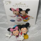 2010 Disney&#39;s Mickey and Minnie: Skating Side by Side Hallmark Robert Chad w/box