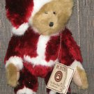 BOYDS BEAR SANTA BEAR HUGS BEST DRESSED SERIES HEAD BEAN 1988-2007 14 1/2""