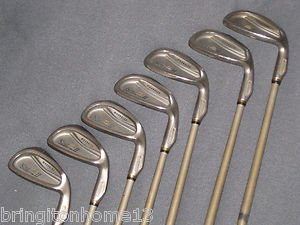 Cobra King Cobra II 2 Iron set Golf Club Clubs 3-PW 3,4,5,7,8,9 OVERSIZE IQ TIP