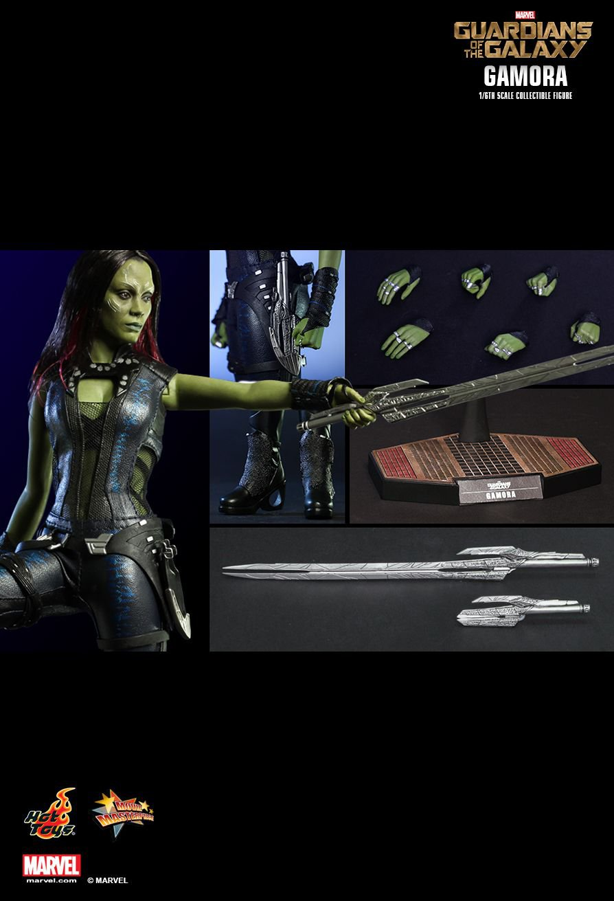 Hot Toys Guardians of the Galaxy : 1/6th scale Gamora Collectible Figure (Free Shipping)