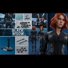 Hot Toys Avengers : Age of Ultron Black Widow Collectible Figure