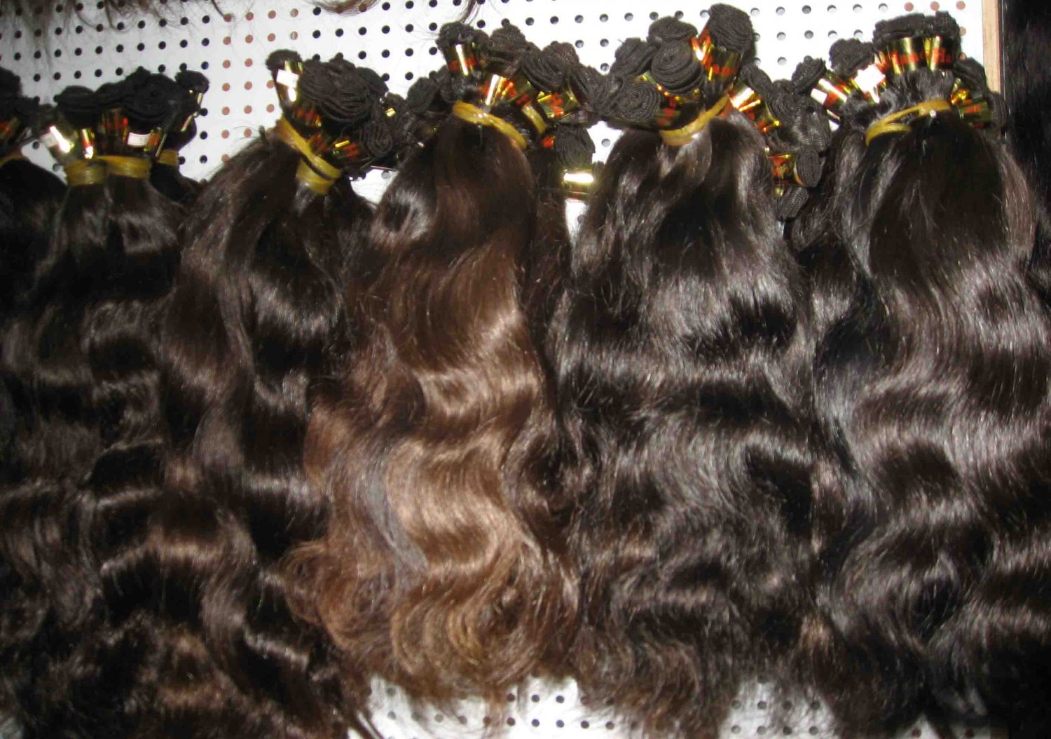 European hair extensions hand tied micro thin weft