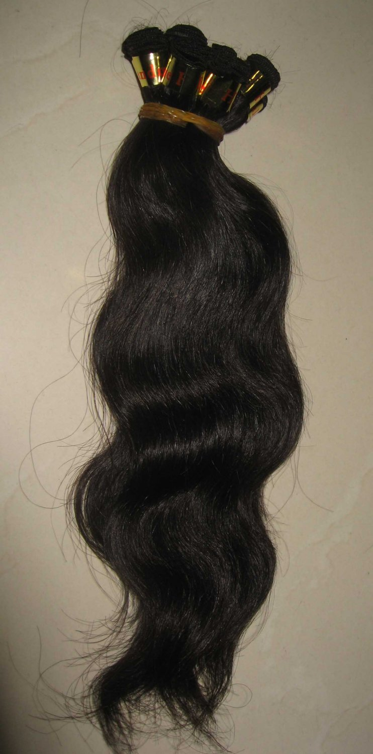 French wave European remy 20in hand tied weft for weave