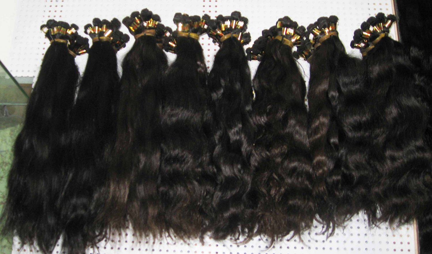 24in hand tied micro thin weft European hair body wave
