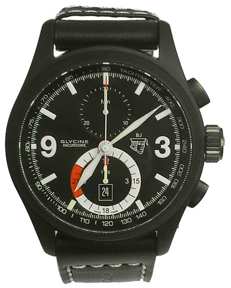 Glycine Incursore Black Jack Limited Edition Wristwatch