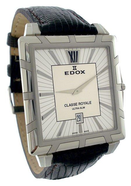 Edox Classe Royale Men�s Ultra Slim Watch 27029-3-AIN