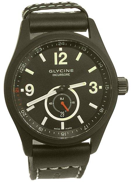 Glycine Steel Incursore Black Jack Limited Edtion Watch