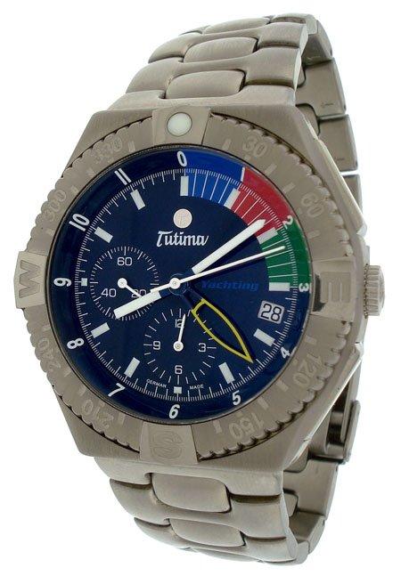 Tutima Military Yachting Chronograph  Mens Watch 751-02