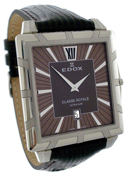 Edox Classe Royale Men�s Quartz Watch 27029 3 BRIN
