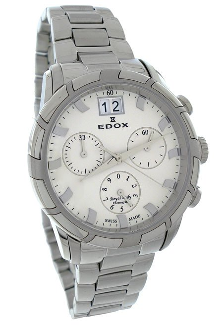 Edox Royal Lady Chronograph Watch 10019 3 AIN