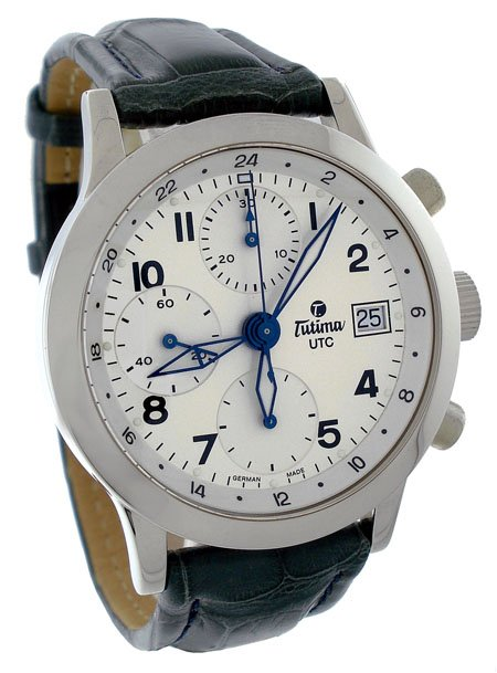 Tutima FX Chronograph  UTC Mens Watch 788-85
