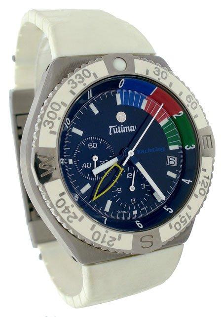 Tutima Military Yachting Chronograph  Mens Watch 751-07