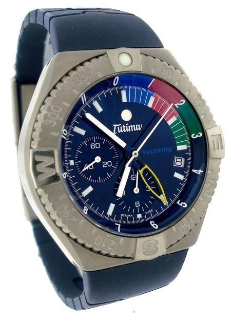 Tutima Military Yachting Chronograph Men's Watch 751-01