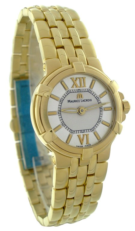 Maurice Lacroix Gold Plated Watch CA1102YP016110