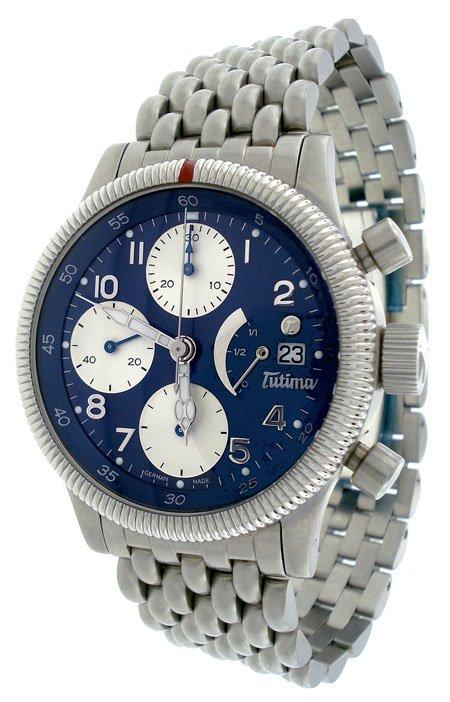 Tutima Flieger Chronograph Men's Watch 780-84