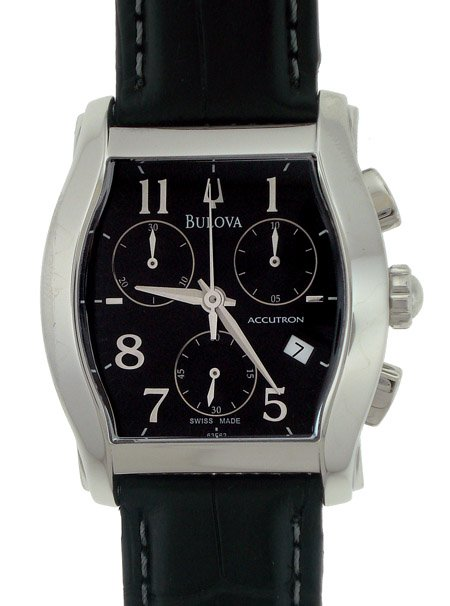 Bulova Chronograph SS Mens Sport Dress Watch 63F62