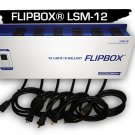 LSM-12 FLIPBOX® - 6 BALLAST, 12 LIGHT