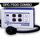 DPC-7500-Combo-4P POWERBOX - (30Amp, Four 240V Outlets, Two 120V Outlets) 4-prong plug