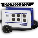DPC-7500-240V-4HW POWERBOX® - (30Amp, Six 240V Outlets) Hardwire 4 Wire