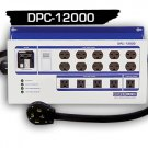 DPC-12000-50A-4HW POWERBOX® - (50 Amp, Ten 240V Outlets, Five 120V Outlets) Hardwire 4-Wire