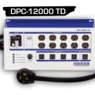 DPC-12000TD-60A-4HW POWERBOX® - (60Amp, Hot Start Time Delay,Ten 240V, Five 120V Outlets) 4-Wire