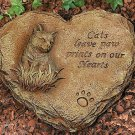 Cat Remembrance Stepping Stone