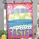 Easter Egg Garden Flag