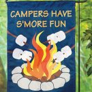 Campers Have S&#39;more Fun Garden Flag